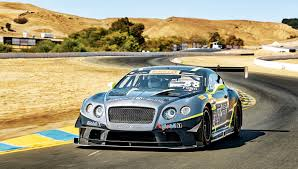 bentley continental gt3 r black taking a spin on the track in bentley u0027s continental gt3 racecar