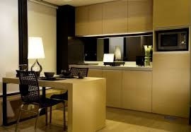 kitchen and dining room luxury contemporary hong kong apartment