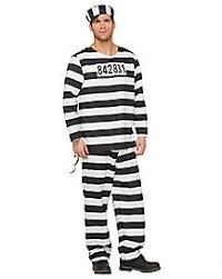 Halloween Inmate Costume Costume Police Costume Prisoner Costume Spirithalloween