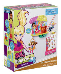 amazon polly pocket wall party juice bar playset toys u0026 games