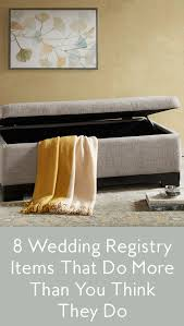 where to do your wedding registry wedding registry ideas home items that multitask instyle