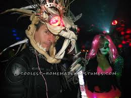 beast halloween costume coolest homemade cat beast costume from tim burton u0027s 9 movie