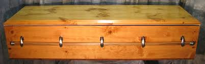 pine coffin solid wood veterans caskets and coffins