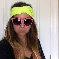 cool headbands the diy no sew turban headband from a t shirt hey wanderer