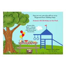 kids picnic birthday party invitation teen birthday party