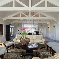 Beach House Rugs Traditional Beach House With Sofa Living Room Beach Style And