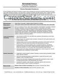 Career Counselor Resume Sample by High Counselor Cover Letter Cover Letters And Resumes