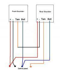wiring 2 bell boxes to alarm system diynot forums