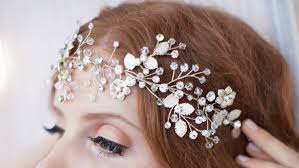 bridal hair accessories headbands for bridesmaids and