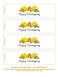 printable thanksgiving napkin rings happy thanksgiving