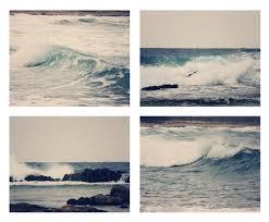 Ocean Home Decor by Ocean Collection 4 Fine Art Photography Metallic Photo Wall Print