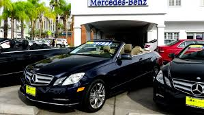 mercedes shop usa moscow russia august 18 2015 many cars in the auto shop