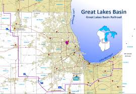 Train Map Chicago by Great Lakes Basin Railroad Making Progress