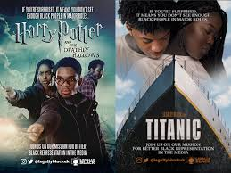 famous movies legally black reimagines famous movie posters with black actors