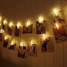 le 20 led photo copper wire string light