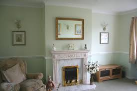 Paint Colours For Hallways And Stairs by 2 Tones Green Megs Place Pinterest Dado Rail Living Rooms