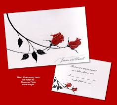 Red And Black Wedding Invitations Red And Black Wedding Invitations The Wedding Specialiststhe