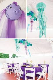 the sea decorations sparkling the sea birthday party hostess with the