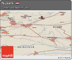 nijkerk netherlands map nijkerk netherlands map
