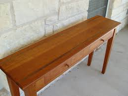 Hallway Table With Drawers Devos Custom Woodworking Custom Traditional Style Tables