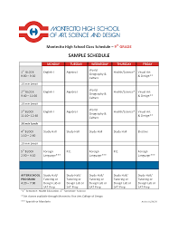 health class online high school 30 images of high school class schedule template adornpixels
