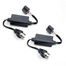 load resistors for led lights lasfit cbh4 9003 hid led headlight canbus error free load resistor