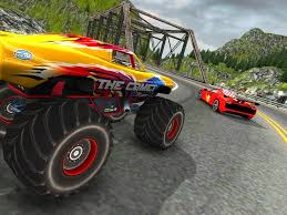 monster truck crash videos crazy car vs monster racing 3d android apps on google play