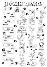 i can read farm animals 1 5