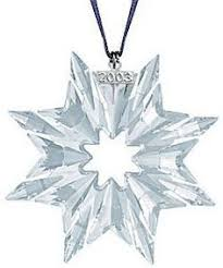 swarovski 2003 annual christmas snowflake ornament z christmas