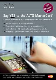 no monthly fee prepaid card alto mastercard prepaid card for corporate users by unity trust