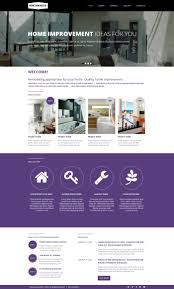 website template home remodel remodeling custom design residence
