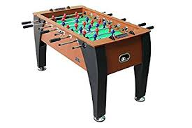 amazon com foosball table amazon com kick foosball table legend 55 in sports outdoors
