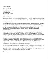 software engineer cover letter 6 software developer cover letter templates free sle with