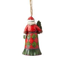 jim shore heartwood creek 4058815 evergreen santa ornament
