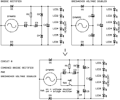 dynamo led light systems for bicycles electronic circuits