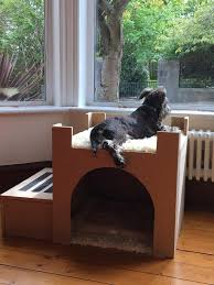 window bench for dog i made my dog a castle album on imgur