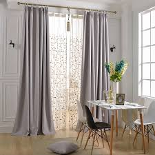 Light Gray Blackout Curtains Simple But Graceful Modern Light Grey Curtains For Light Gray