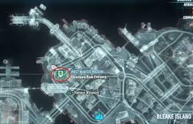 Map Of Gotham City Batman U2013 Arkham Knight Bandit Mit Zwei Gesichtern U2013 So Bringt Ihr
