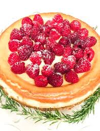 Cheesecake Decoration Fruit Cheesecake With Raspberry Sauce Favorite Family Recipes