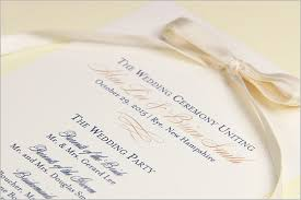 Sample Of Wedding Programs Ceremony Wedding Ceremony Programs Stationery To Design Print Make Your Own