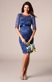 amelia lace maternity dress blue maternity wedding