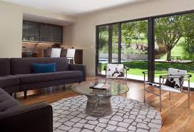 gold black living room contemporary with sectional san francisco