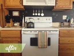 Painted Kitchen Backsplash Ideas Before After Kitchen Backsplash Looks Like Dinosaurs