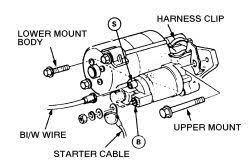 starter for 94 honda accord repair guides engine electrical starter autozone com