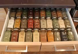 Kitchen Drawer Storage Ideas by Kitchen Spice Drawers For Cabinets Racks Drawer Organizers Uotsh