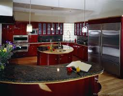 kitchen with island and peninsula kitchen island peninsula with spice shelves transitional small