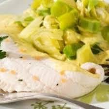recette plat femme enceinte limande sur fondue de poireaux au curry