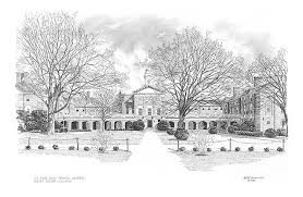 campus prints architecturally correct pencil drawings and prints