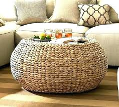 wicker side table with glass top small wicker side table round wicker coffee table glass top round