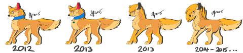 sketch wolf timeline by ready set run on deviantart